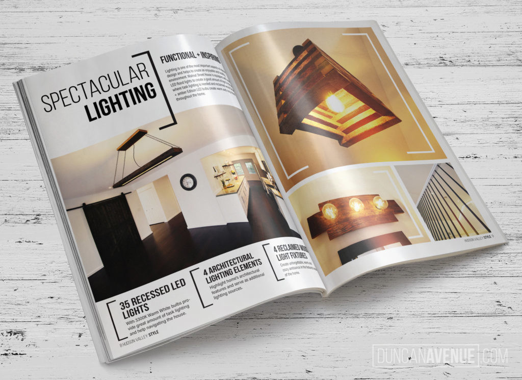 Feature in the Hudson Valley STyle Magazine // New Windsor, NY Interior Design and Renovation Project by Duncan Avenue Group