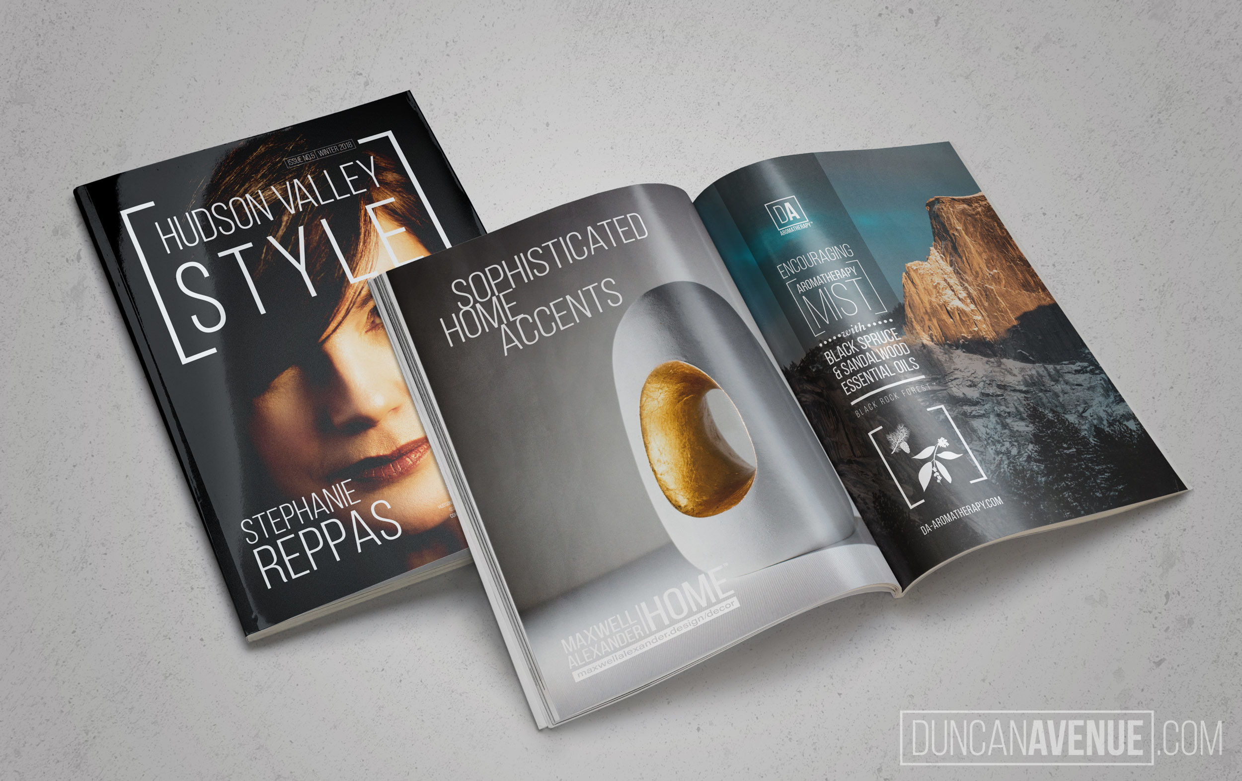 Hudson Valley Style Magazine - Issue No.5 - Stephanie Reppas - Lighting the Way