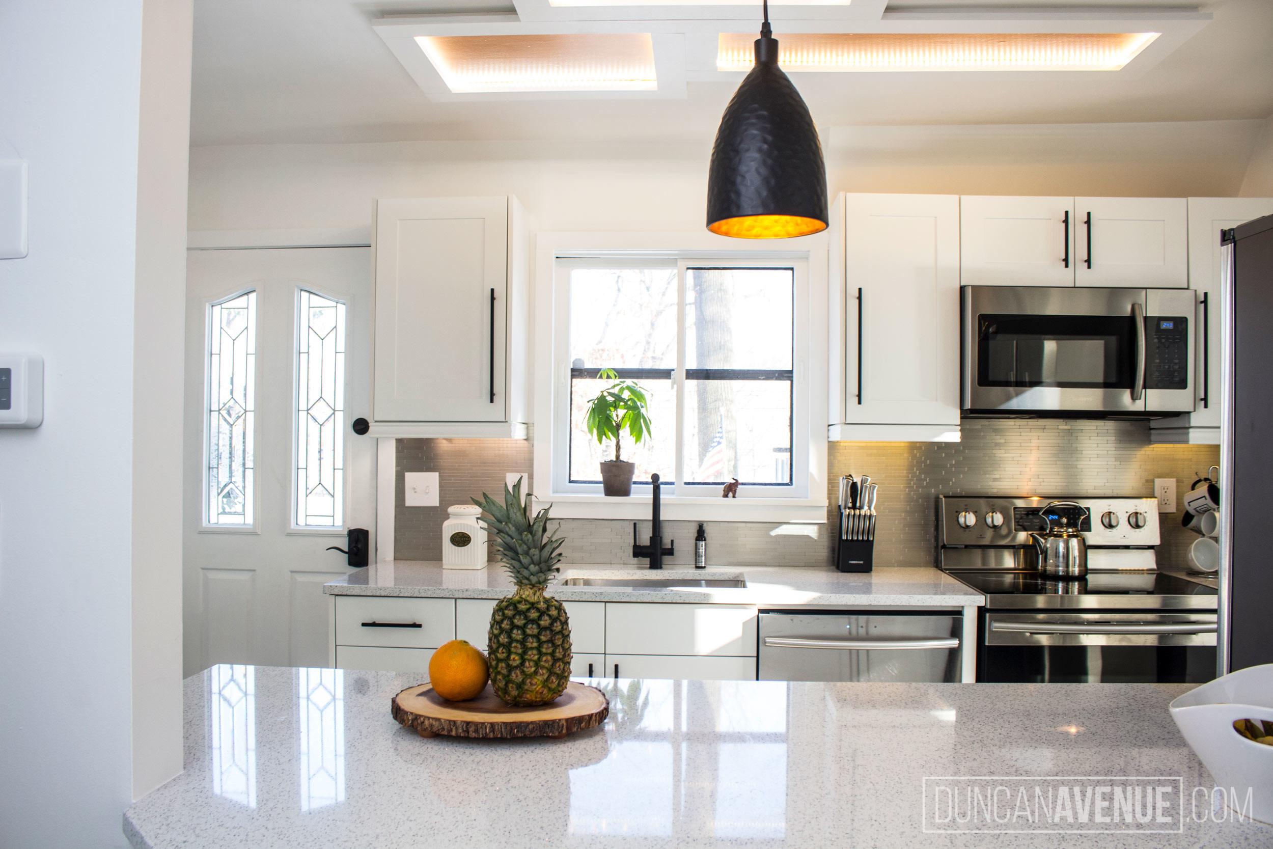 Custom & Architectural Lighting and Light Fixtures by Duncan Avenue Design Studio