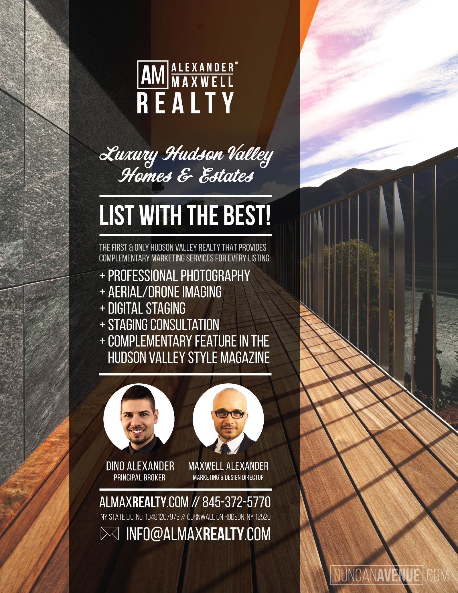 Alexander Maxwell Realty – Luxury Hudson Valley Homes & Estates
