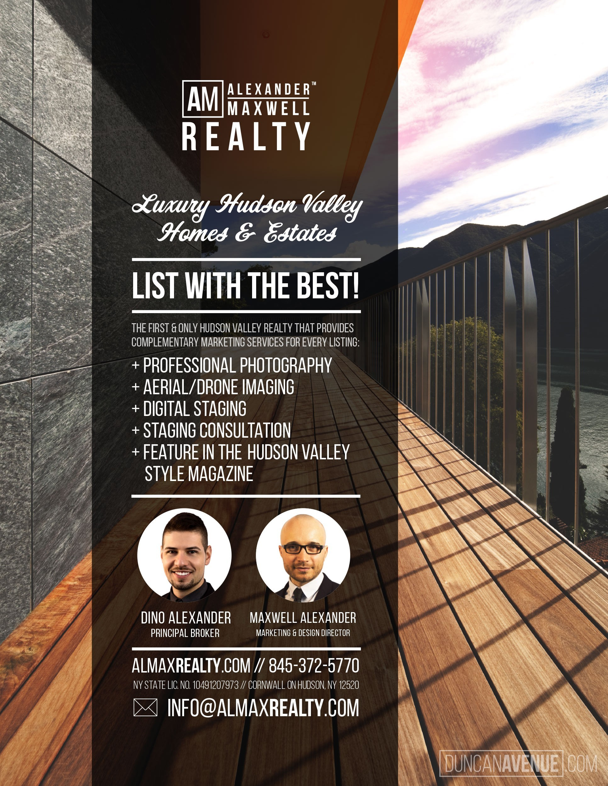 Alexander Maxwell Realty - Luxury Hudson Valley Real Estate - List with the Best