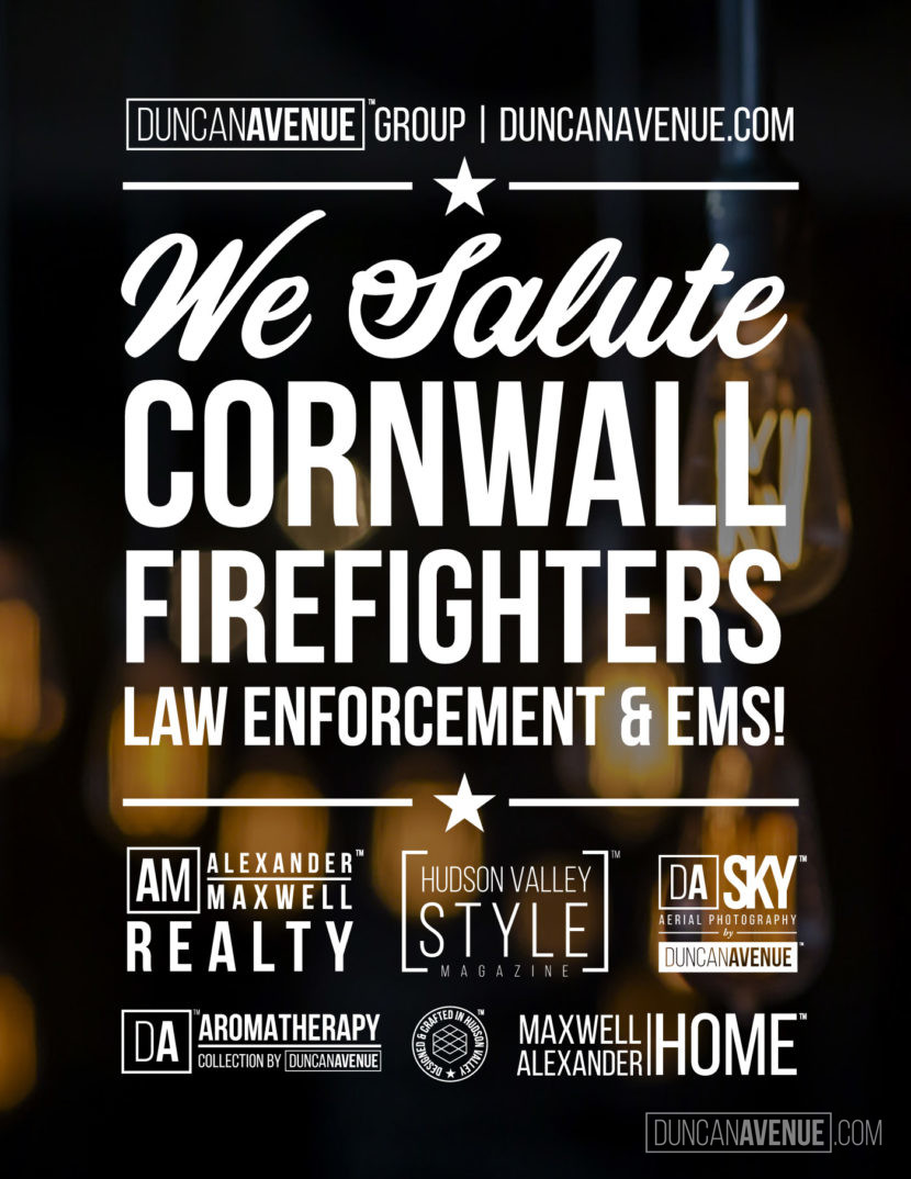 Duncan Avenue Group Salutes Cornwall Firefighters, Police and EMS