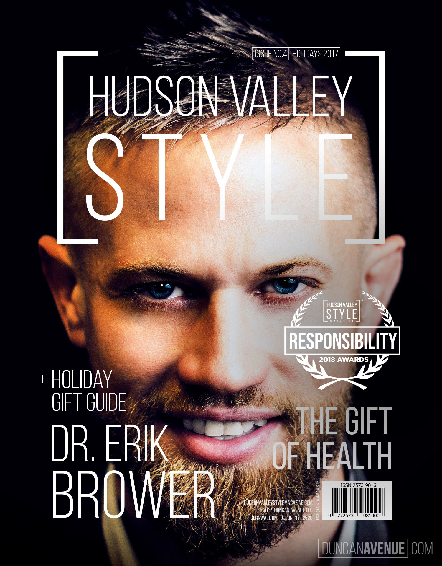 Hudson Valley Style Magazine 2018 Awards: Recognizing Outstanding Style, Design, Creativity, Innovation and Leadership Achievements while advancing Sustainability and Social Responsibility Principles in the Greater Hudson Valley Region and all around the World.