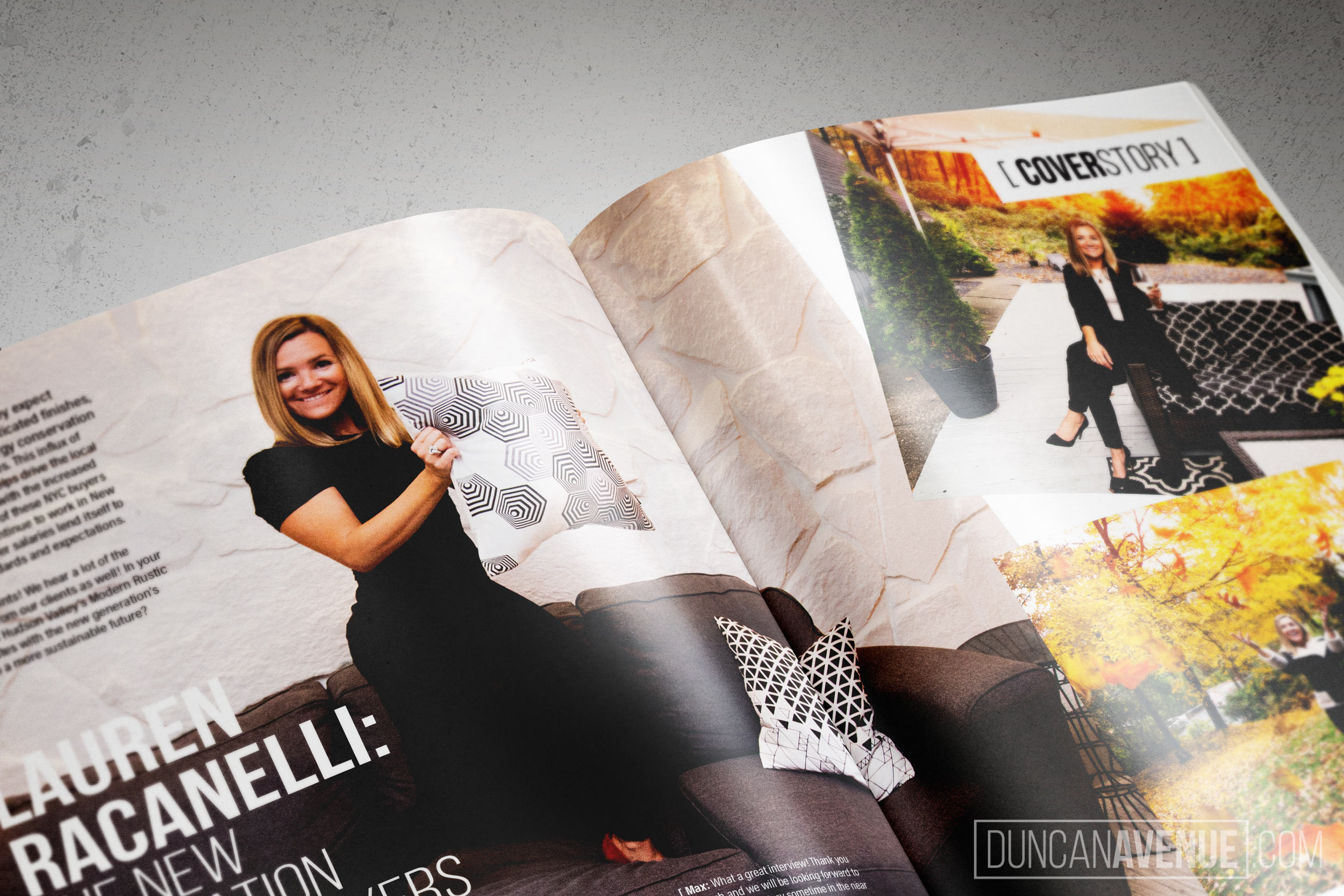 Hudson Valley Style Magazine - Fall 2018 - Lauren Racanelli – The New Generation of Homebuyers