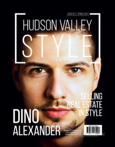 Dino Alexander - Hudson Valley Style Magazine Cover
