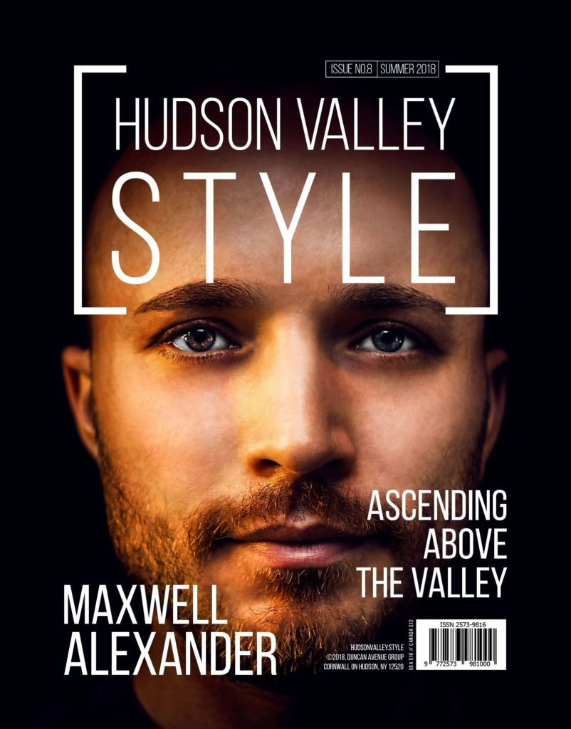 Hudson Valley Style Magazine Summer 2018 Cover - Maxwell Alexander