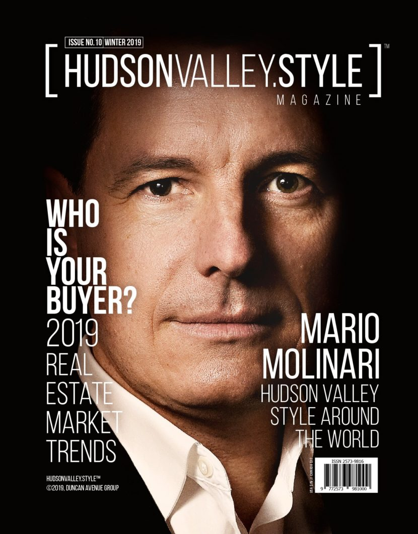 Hudson Valley Style Magazine Issue No. 10 - Discovering Modern Rustic Style around the World with Mario Molinari