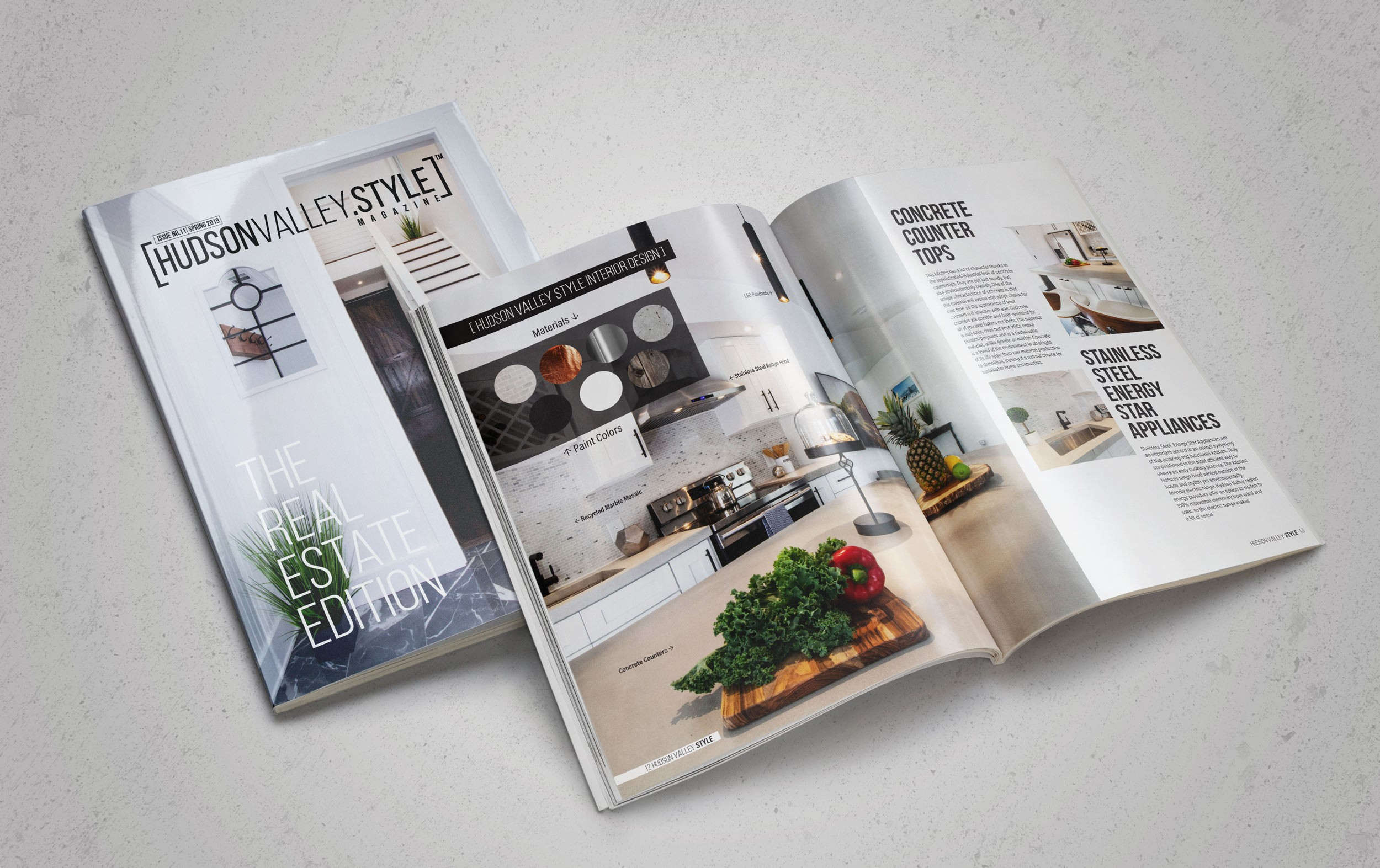 Hudson Valley Style Magazine - Interior Design and Renovation Project by Duncan Avenue Design Studio in Hudson Valley, Cornwall on Hudson, NY