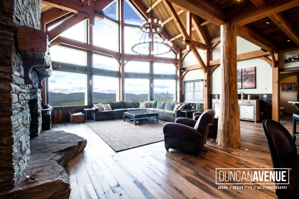 Catskill Mountains - Hudson Valley - Real Estate Property Photoshoot by Duncan Avenue Studio