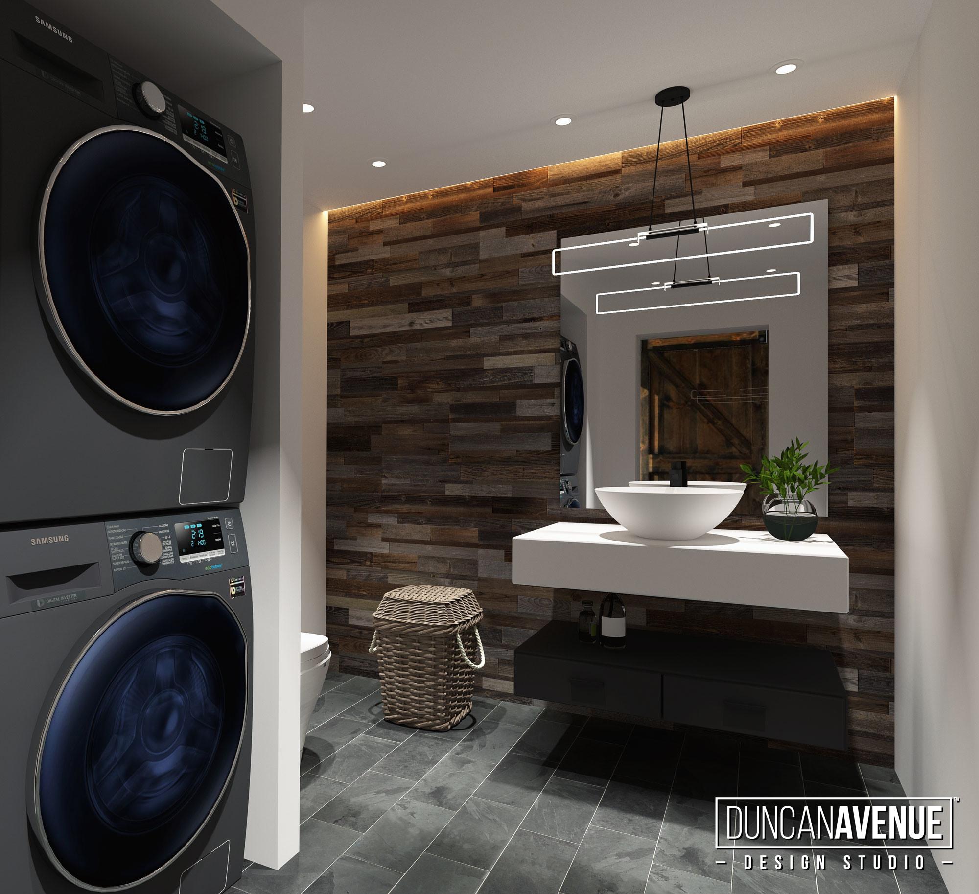 Modern Rustic Style Interior Design by Duncan Avenue Interior Design Studio - Hudson Valley
