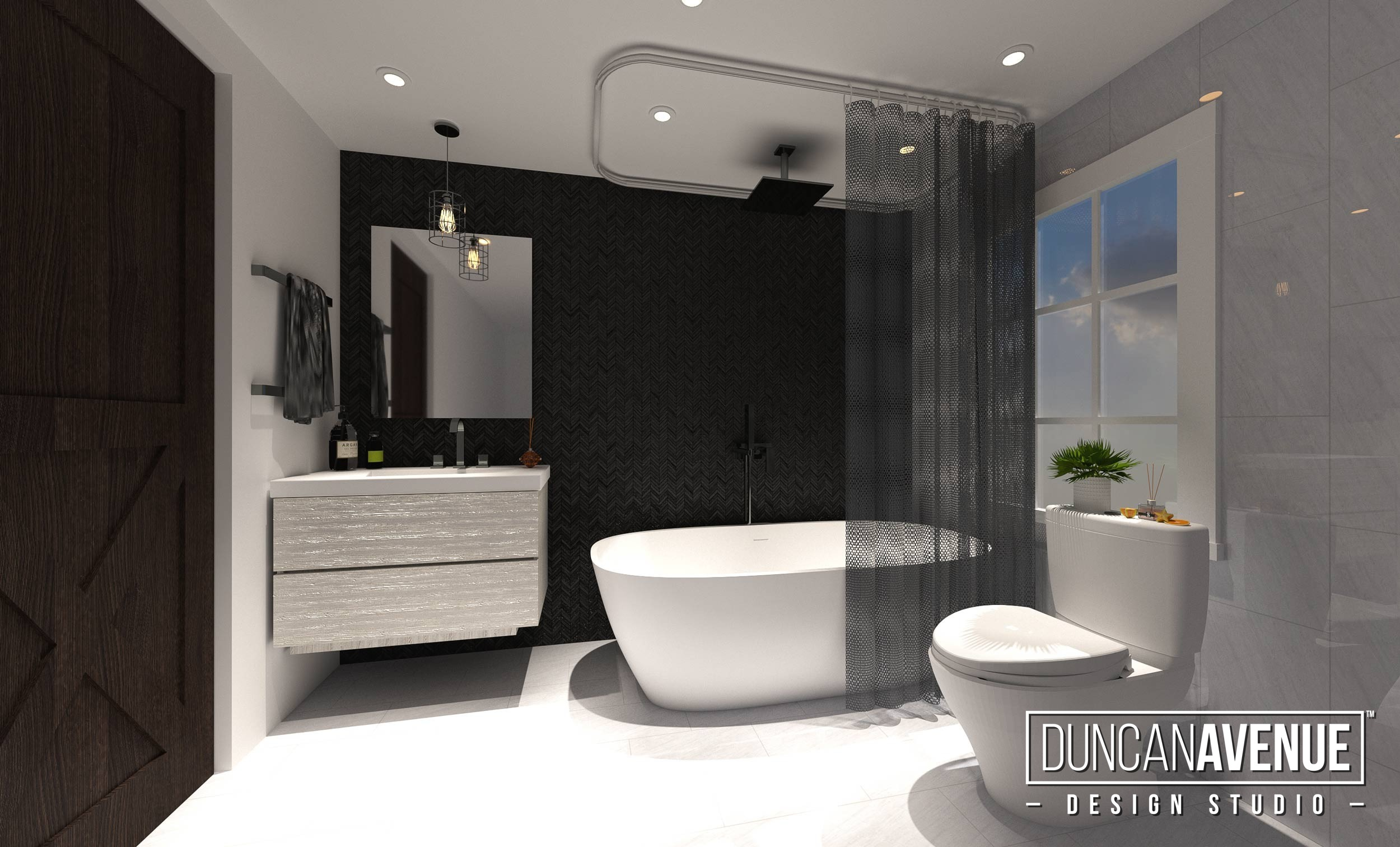 Bathroom design - Duncan Avenue Interior Design Studio - Hudson Valley - Kingston, NY