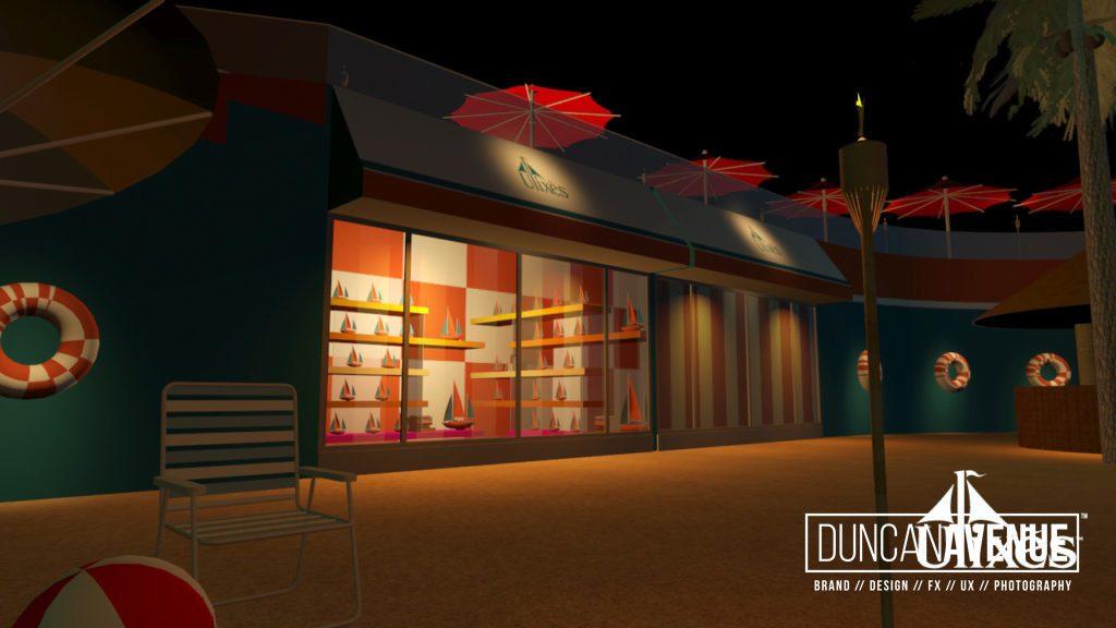 Ulixes Beach Theme Park - Experience Design Concept in Coney Island/Brooklyn, NY - Maxwell Alexander
