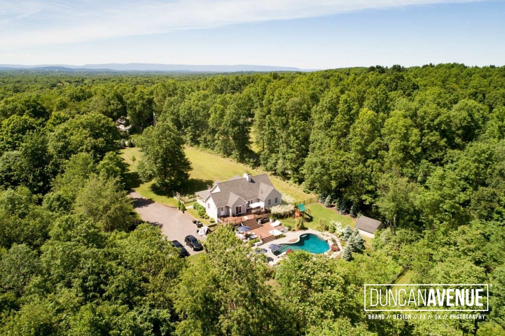 Aerial Photoshoot in Hudson Valley, New York for Almax Realty - The Best Drone Photography