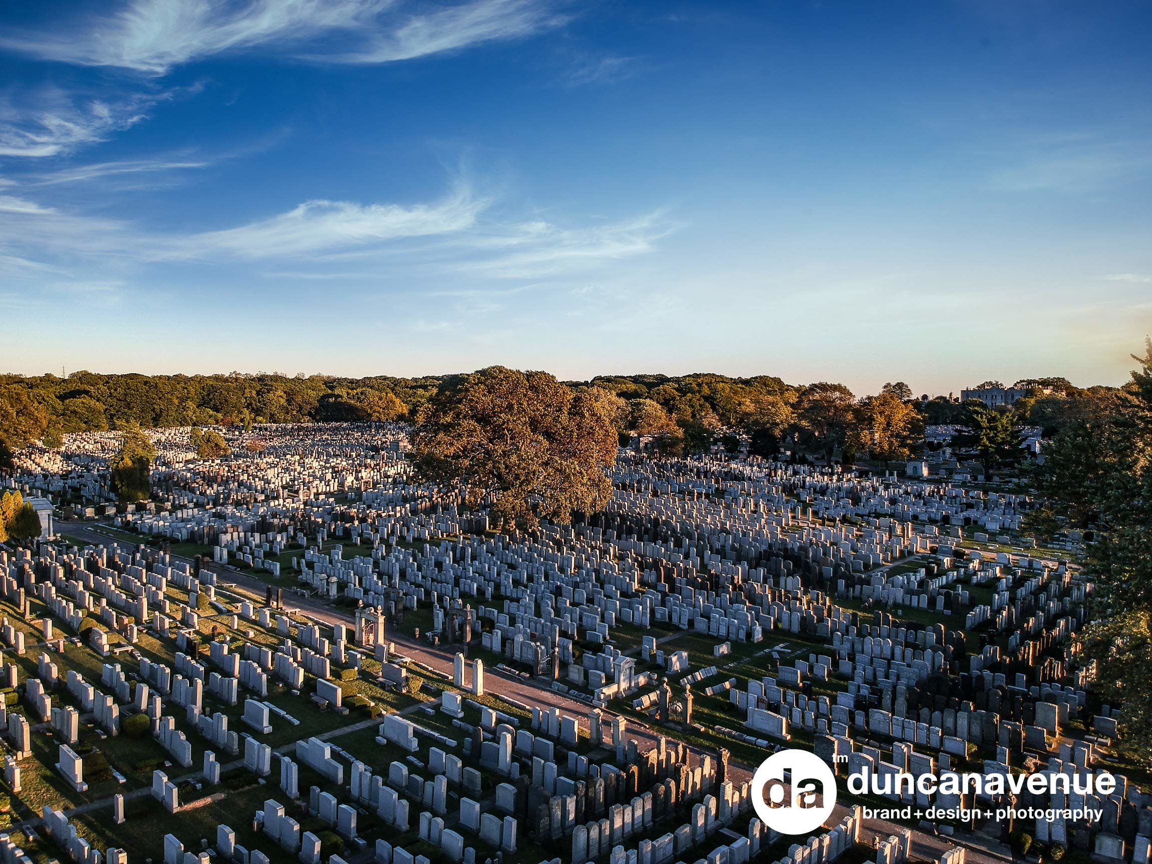 Mt. Lebanon, New York City, Queens, Cemetery - Commercial Real Estate Photography by Duncan Avenue Group