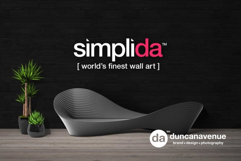 Simplida.com - World's Fines Wall Art Printed on Canvas in the USA