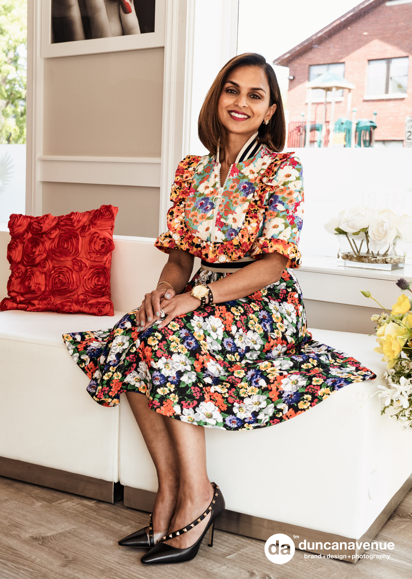 Dr. Zainab Mogul-Ashraf for the Hudson Valley Style Magazine - Hebe Med Spa Brand and Portrait Photography by Maxwell Alexander / Duncan Avenue Studio