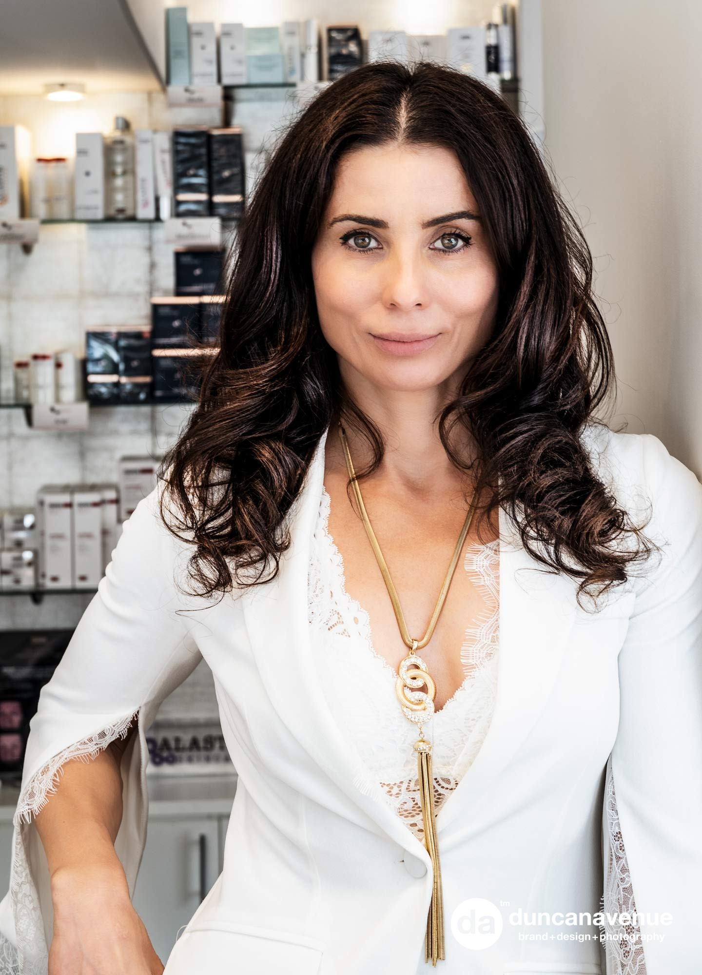 Irina Damyanidu for the Hudson Valley Style Magazine - Hebe Med Spa Brand and Portrait Photography by Maxwell Alexander / Duncan Avenue Studio