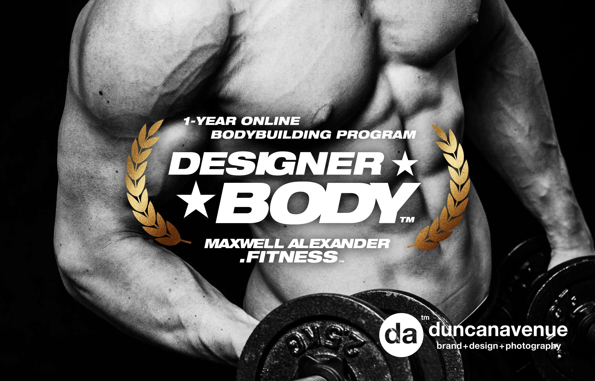 Designer Body™ Bodybuilding Program by Maxwell Alexander Fitness