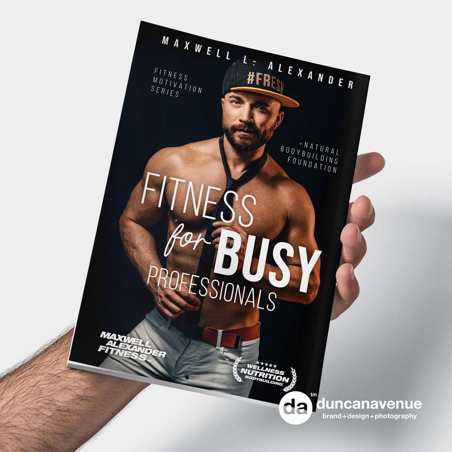 Fitness for Busy Professionals – New Fitness Motivation Book by Maxwell Alexander