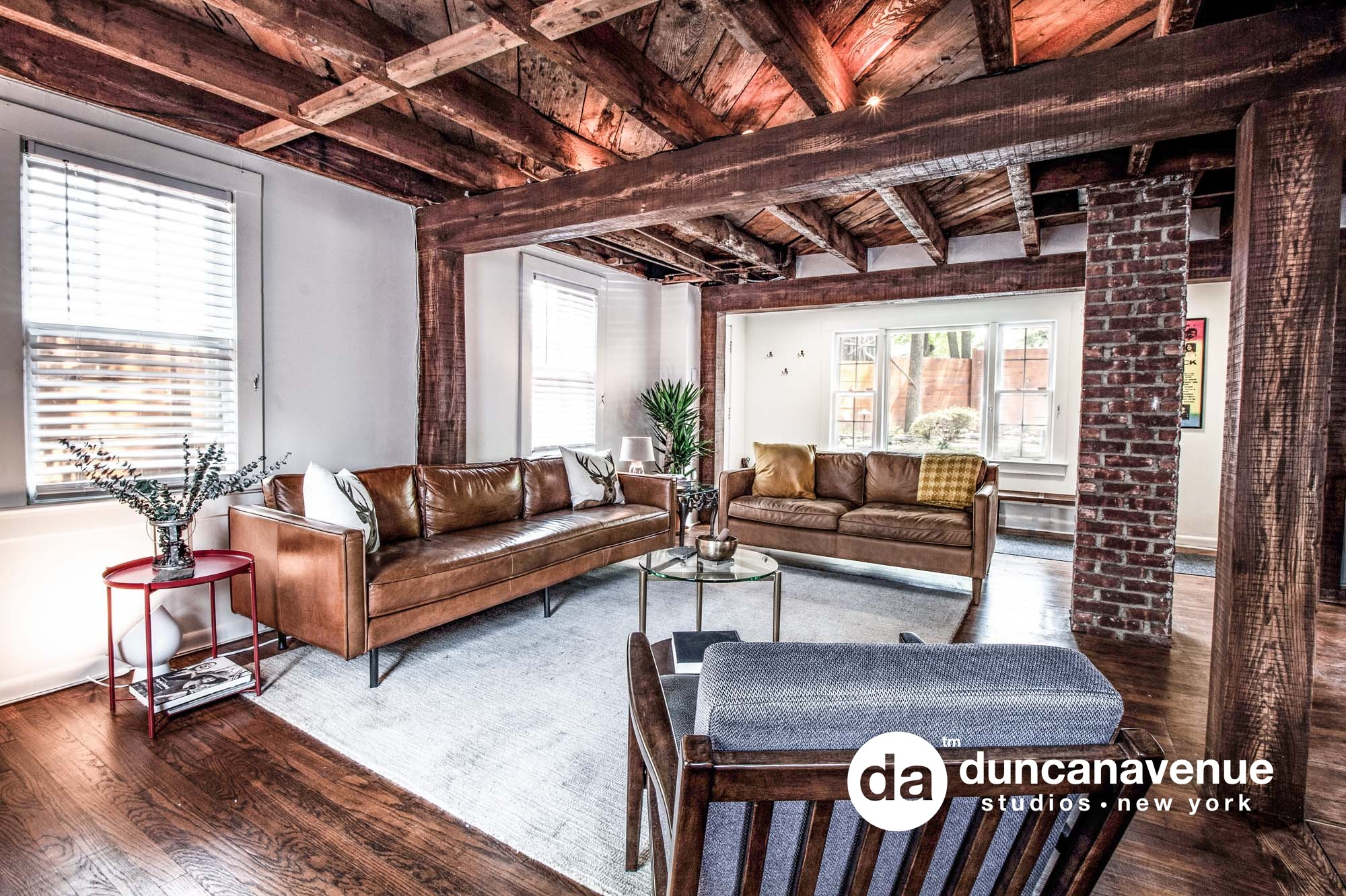 Modern Rustic Airbnb Real Estate Photography in Woodstock, NY – Duncan Avenue Studios