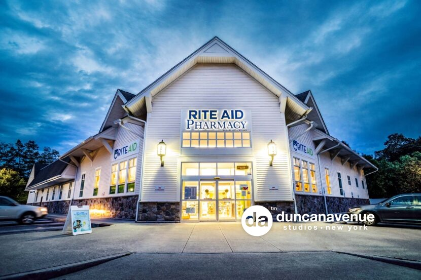 Rite Aid Hyde Park, NY – Commercial Real Estate Photography Project by Duncan Avenue Studios – Hudson Valley, Catskills, and Westchester, New York
