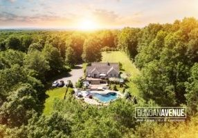 Aerial Drone Real Estate Photography by Duncan Avenue Photography Studio / Maxwell Alexander